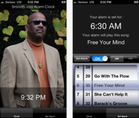 Walter Beasley Smooth Jazz Alarm App